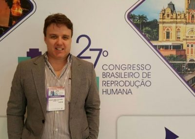 Dr. Eduardo Camelo de Castro no Congresso Brasileiro de Reprodução Humana