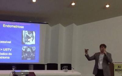 Dr. Eduardo profere Aula de Endometriose na Jornada